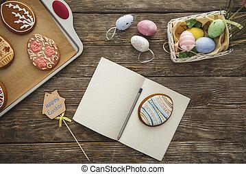 jadło, copybook, ozdobny, świąteczny