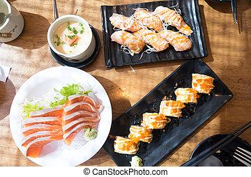 jadło, komplet, japończyk