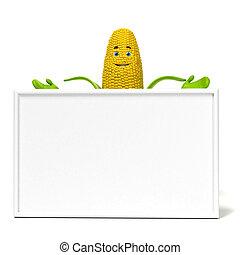 jadło, kukurydziany kaczan, litera