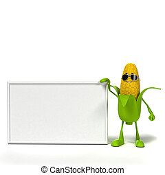 jadło, litera, kukurydziany kaczan, -