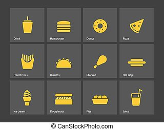 jadło, mocny, icons.