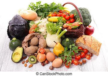 jadło, owoc, roślina, asortyment, zdrowy
