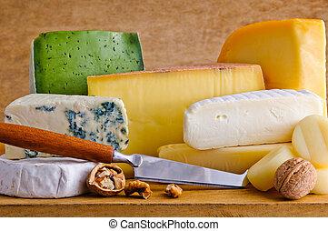 jadło, ser, różny