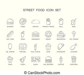 jadło, set., ulica, ikona