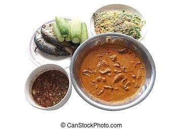 jadło, thai, komplet