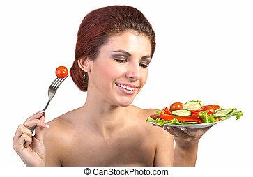 jadło, wegetarianin, zdrowy
