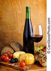 jadło, wino