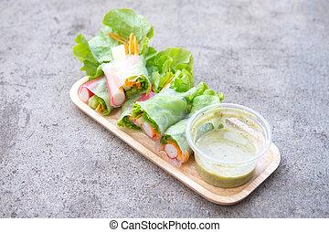 jadło, zdrowy, czysty, sałata, ewidencja