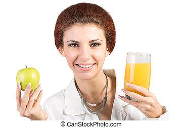 jadło, zdrowy