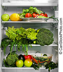 jadło, zielony, chłodnia