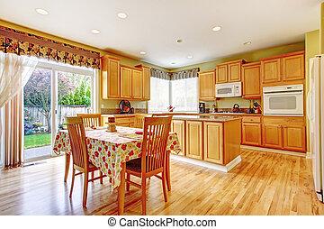 jadalny, kuchnia, pokój, powierzchnia