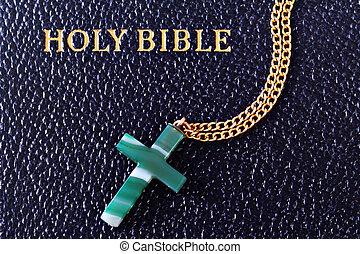 Jade Cross and Bible