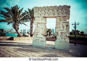 jaffa, アーチ, イスラエル