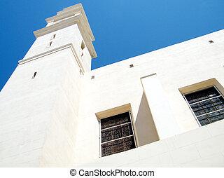 jaffa, 窓, st., 教会, ピーター, 2011