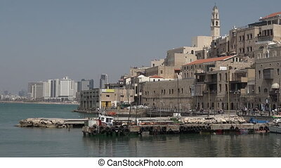 jaffa, 이스라엘, aviv를 말해라, 오래 되는 항구
