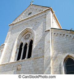 jaffa, franciscan, st. 。, ペディメント, アンソニー, 教会, 2011