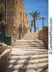 Jaffa old city - the old port city of Jaffa in Tel Aviv