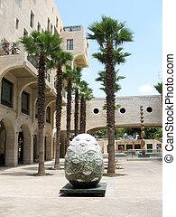 Jaffa Yerushalayim Ave sculpture 2007