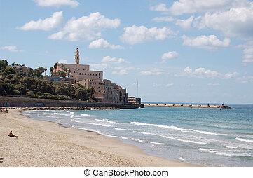 Jaffo coastline view