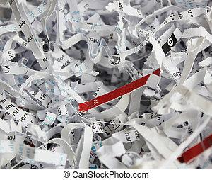 jag shredded tidning