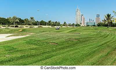 jaga, dubai, golf