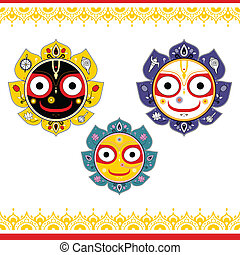 jagannath., 神, indian, universe.
