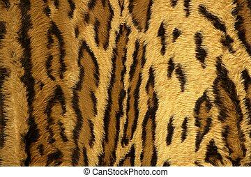 jaguar, leopard, fantasie, stoff, pelz, beschaffenheit