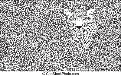 Jaguar skin background - jaguar skin background illustration...