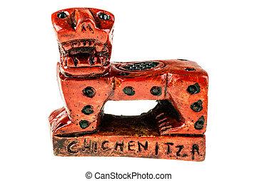 Jaguar throne miniature