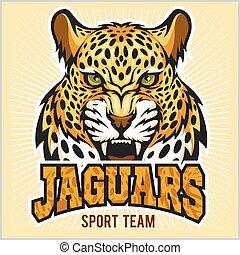 Jaguars - Sport Team Design - Jaguars - Retro Style Sport...