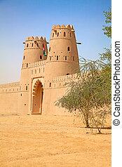 Jahili fort - Famous Jahili fort in Al Ain oasis, United...