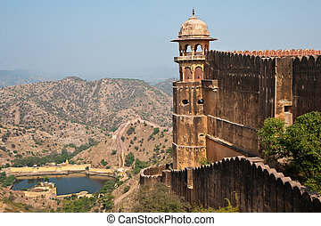 Jaigarh Fort and the surroundings - The famous Jaigarh fort...
