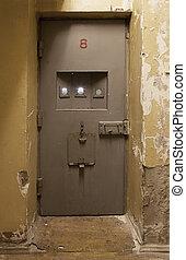 Jail cell door - Light coming in through jail cell door at ...