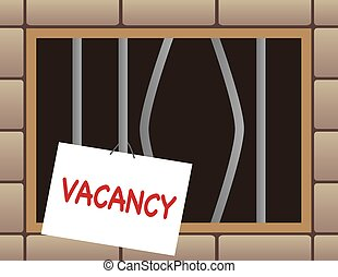 Jail Cell With Vacancy