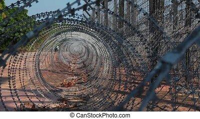 Jail - Barb,Barbed, fence, penitentiary, Break,break...