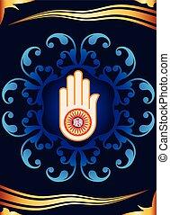Jain Emblem Design