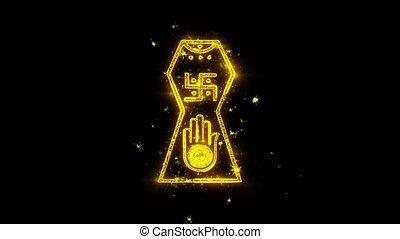 Jain hand. Ahimsa Indian, jainisms, hindu religious Icon...