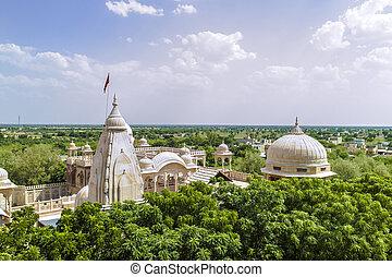 jain temples of jaisalmer in rajasthan state in india - jain...