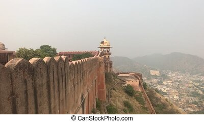 Jaipur, India - View of the fortress from afar part 10