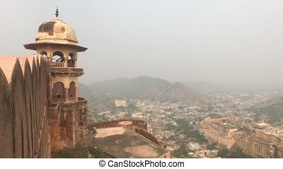 Jaipur, India - View of the fortress from afar part 4