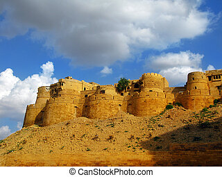 "Jaisalmer, the ""Golden City"" of Raj"
