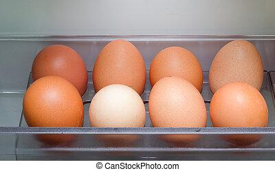 jaja, chłodnia