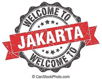 Jakarta round ribbon seal