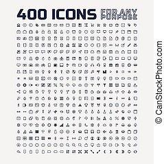 jakiś, uniwersalny, 400, cel, ikony