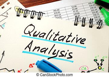 jakościowy, analiza