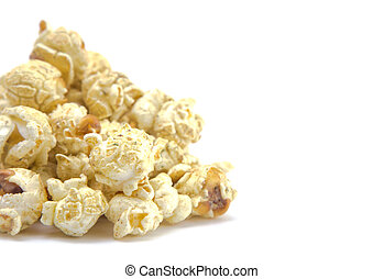 Jalapeno Flavored Cheese Popcorn on a White Background