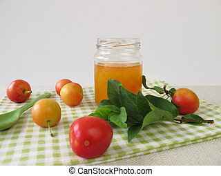 Jam from cherry plums - Homemade jam from cherry plums
