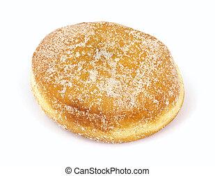 jam, gevulde, donut