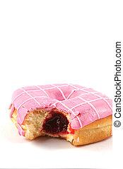 jam, gevulde, doughnut