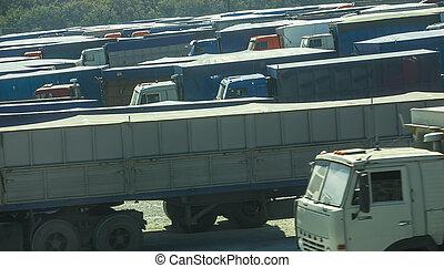 jam., handel, ciężarówki